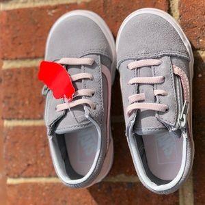Vans Kids Old Skool Zip Sneaker